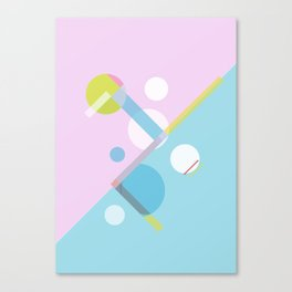 Geometric Calendar - Day 12 Canvas Print