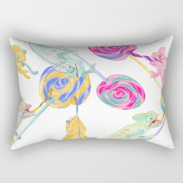 Lollipop Binge Rectangular Pillow