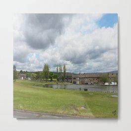 Rochdale Syke pond Metal Print