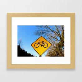 Bicycle for life. Framed Art Print