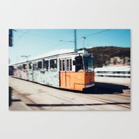 budapest Canvas Prints featuring Budapest by Johnny Frazer