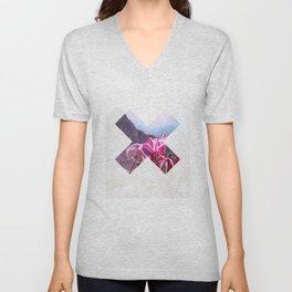 x 3 Unisex V-Neck