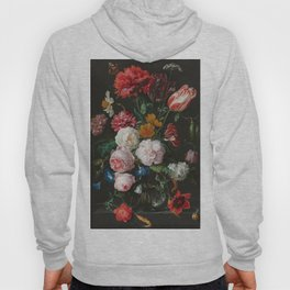 Still Life with Flowers by Jan Davidsz. de Heem Hoody