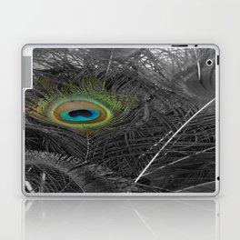 Peacock Peek Laptop & iPad Skin