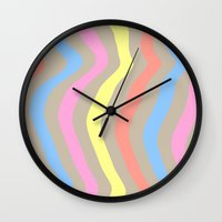 sassy Wall Clocks featuring Sassy Sass by Tyler Spangler