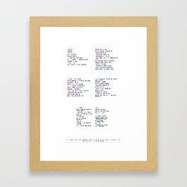 Roykshop Framed Art Print