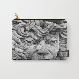 Fire Face Fountain  Carry-All Pouch