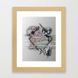 A Broken Definition Of Love Framed Art Print