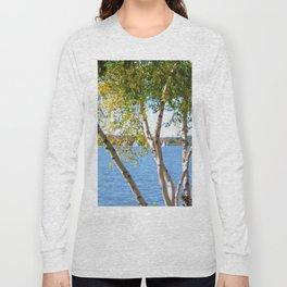 Sailing through the Birch Long Sleeve T-shirt