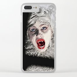 Lucy Westenra Clear iPhone Case
