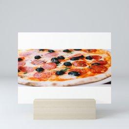 Pizza Slices (68) Mini Art Print