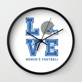 LOVE THE GAME Wall Clock