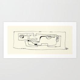 Flat Affect Art Print