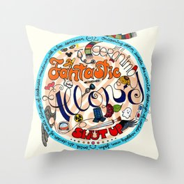 Doctor? Doctor WHO? Throw Pillow
