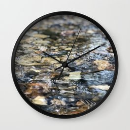 Pebble Creek Wall Clock