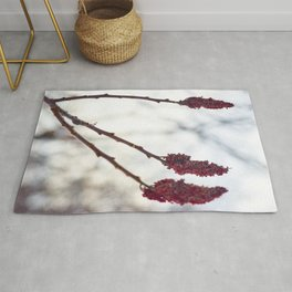 Red of three Rug
