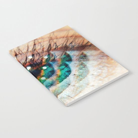 Green Eyes Hypnotize Notebook