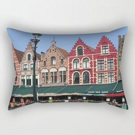 BELGIUM BRUGGES HOUSES Rectangular Pillow