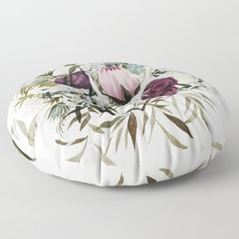 Rustic and Free Bouquet Floor Pillow