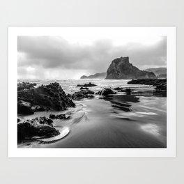 Piha Beach - New Zealand Art Print