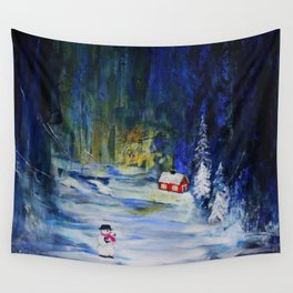Out alone Wall Tapestry