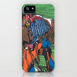 One of a Kind Cowboy iPhone Case