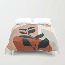 Soft Shapes II Duvet Cover