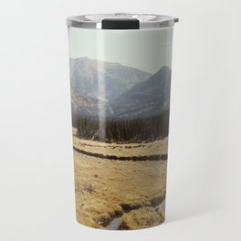 Rocky Mountain Meadow Travel Mug