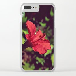 Nature's Fashion Week X Clear iPhone Case