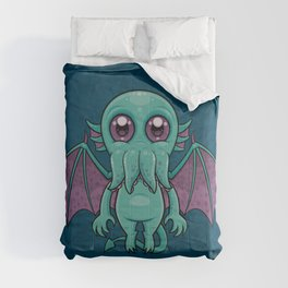 Cute Baby Cthulhu Monster Comforters