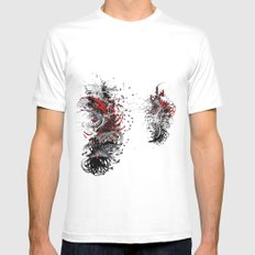 agents in the field Mens Fitted Tee White SMALL