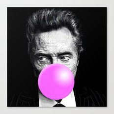 Christopher Bubblegum Canvas Print