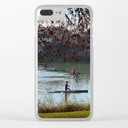 Sprint canoe Clear iPhone Case