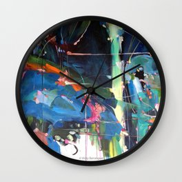 Projections of the soul Wall Clock