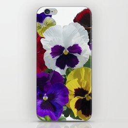Pansies! iPhone Skin