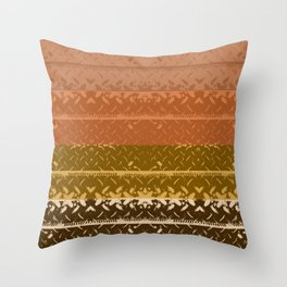 Desert Plateau Tread Plate Throw Pillow