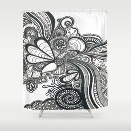 Doodle 1 Shower Curtain