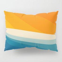 Abstract landscape art Pillow Sham