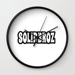 Solidbroz (Logo) Wall Clock