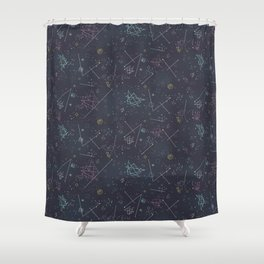 Cosmic Voyage Shower Curtain