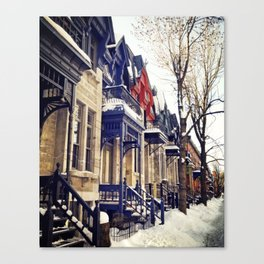 rue Laval -  Montreal Canvas Print