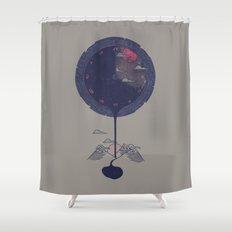 Night Falls Shower Curtain