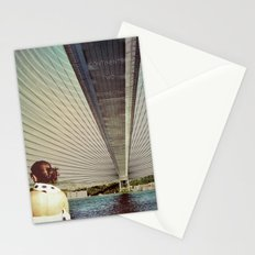 Connecting Two Continents  Stationery Cards