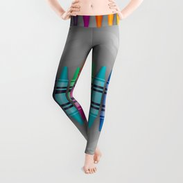 Rainbow Crayons Leggings