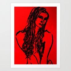 Roxanne Art Print