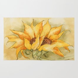 Fresco Sunflower Rug