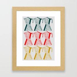 Cafetera Framed Art Print