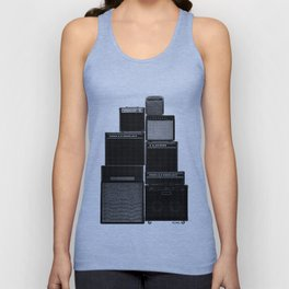 The Great Wall of LOUD Unisex Tank Top
