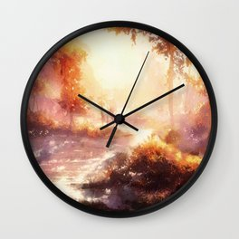 The Whiteface Lodge, Lake Placid Wall Clock
