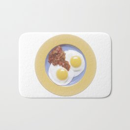 Eggs and Salsa Bath Mat